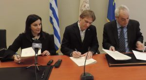 Signing the Agreement for EURALEX 2020 - 2019-03-27